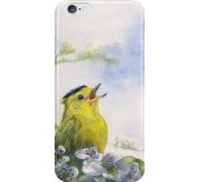 Singing the Blues iPhone Case/Skin