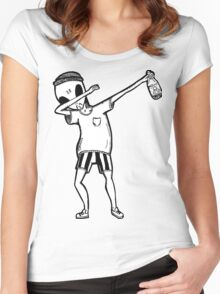 Dab Alamo Women's Fitted Scoop T-Shirt