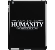 faith humanity iPad Case/Skin