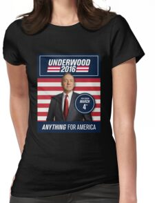 Anything for America Womens Fitted T-Shirt