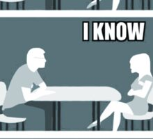 flat earth speed dating Sticker