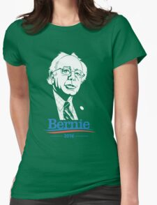 i am with bernie Womens Fitted T-Shirt