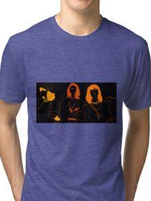 Run Orange Run Tri-blend T-Shirt
