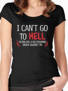hell order Women's Fitted Scoop T-Shirt