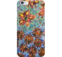 Asters and Paradise Flowers iPhone Case/Skin