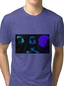 Run Blue Run Tri-blend T-Shirt