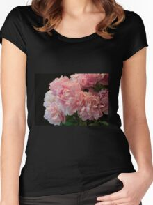 Pink Peony Passion Women's Fitted Scoop T-Shirt