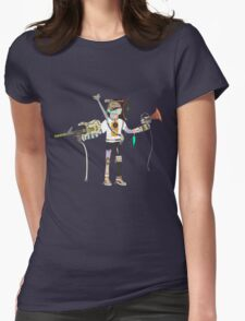 Muster Basster Womens Fitted T-Shirt