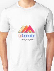 Collaboration, let's work together Unisex T-Shirt