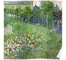 1890-Vincent van Gogh-Daubigny's garden-50,7x50,7 Poster