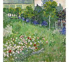 1890-Vincent van Gogh-Daubigny's garden-50,7x50,7 Photographic Print