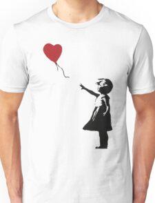 Banksy Heart - ONE:Print Unisex T-Shirt