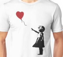 Banksy Heart - ONE:Print Unisex T-Shirt