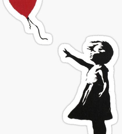 Banksy Heart - ONE:Print Sticker