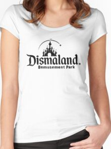 Dismaland - ONE:Print Women's Fitted Scoop T-Shirt