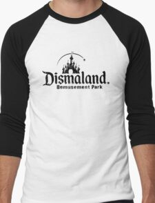 Dismaland - ONE:Print Men's Baseball ¾ T-Shirt