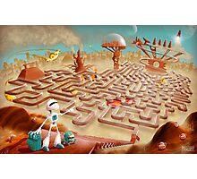 Robot city maze Photographic Print