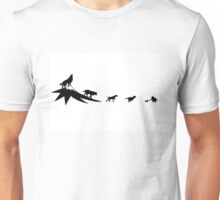 The evolution of the dog Unisex T-Shirt