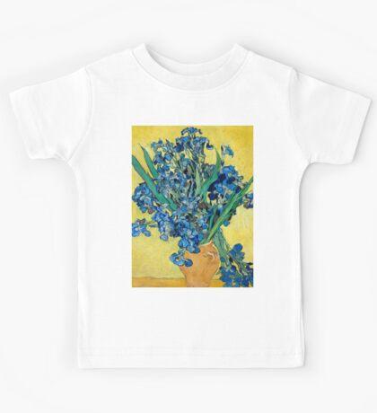 1890-Vincent van Gogh-Irises-73,5x92 Kids Tee