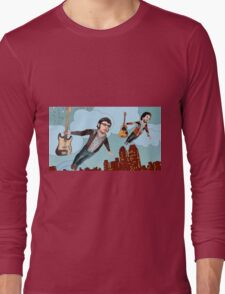 Flight Of The Conchords - Flying Long Sleeve T-Shirt