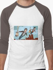 Flight Of The Conchords - Flying Men's Baseball ¾ T-Shirt