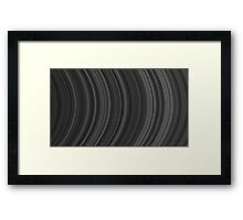 Abstract stripe pattern of ribbon Framed Print