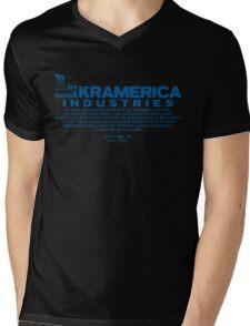 kramerica Mens V-Neck T-Shirt