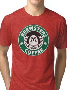 Brewsters Coffee (distressed) Tri-blend T-Shirt