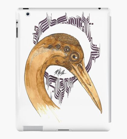 Airone - coffee and ink -  iPad Case/Skin