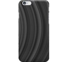 Abstract stripe pattern of ribbon iPhone Case/Skin
