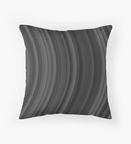 Abstract stripe pattern of ribbon Throw Pillow