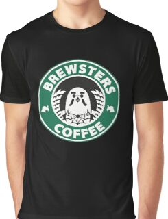 Brewsters Coffee Graphic T-Shirt