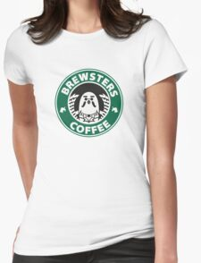 Brewsters Coffee Womens Fitted T-Shirt