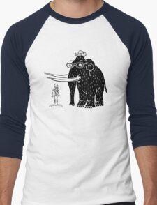 Frozen Mammoth Men's Baseball ¾ T-Shirt