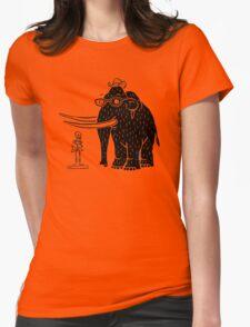 Frozen Mammoth Womens Fitted T-Shirt