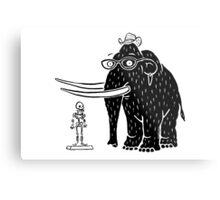 Frozen Mammoth Metal Print