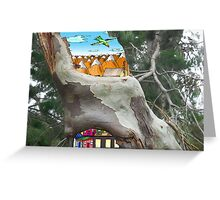 Trees are Awesome Greeting Card