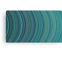 curve ribbon pattern light blue Canvas Print