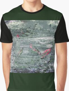 In the Darkness of the Night - Original Wall Modern Abstract Art Painting Original mixed media Graphic T-Shirt