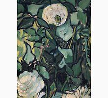 1890-Vincent van Gogh-Roses-24,5x33,5 Unisex T-Shirt