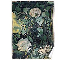 1890-Vincent van Gogh-Roses-24,5x33,5 Poster