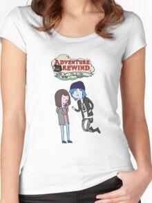 Adventure Rewind Women's Fitted Scoop T-Shirt