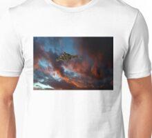 Avro Vulcan sunset Unisex T-Shirt