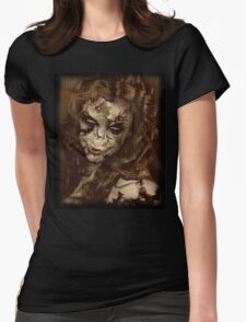 Beautiful Decay Womens Fitted T-Shirt
