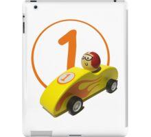 Racing a Dream iPad Case/Skin