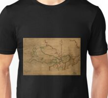 American Revolutionary War Era Maps 1750-1786 056 A map of Canada and the north part of Louisiana with the adjacent countrys 1 Unisex T-Shirt