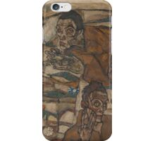 Egon Schiele - Levitation The Blind II 1915 iPhone Case/Skin