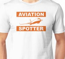 Aviation Spotter 737 Unisex T-Shirt