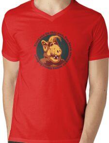 Alf Guru Mens V-Neck T-Shirt
