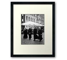 Nuns Framed Print